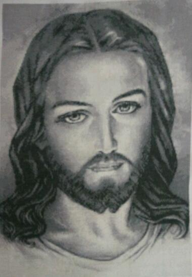 Нажмите на изображение для увеличения.  Название:Иисус. Готовая вышивка.  Всего 43575 кр. 30.11.14.jpg Просмотров:287 Размер:23.8 Кб ID:156917
