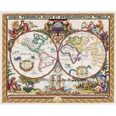 015-0223 Olde World Map
