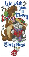 Название: Dimensions 08727 Christmas Paws Banner.jpg Просмотров: 1091  Размер: 9.1 Кб