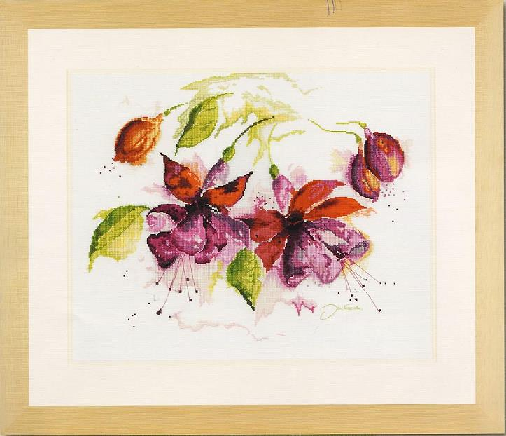 Нажмите на изображение для увеличения.  Название:Lanarte 34849 Fuchsia in Watercolour.jpg Просмотров:153 Размер:53.8 Кб ID:197382