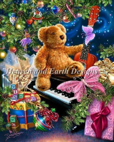 Нажмите на изображение для увеличения.  Название:dona_gelsinger-christmas-bear-wishesjpg.image.400x499.jpg Просмотров:172 Размер:85.8 Кб ID:199634