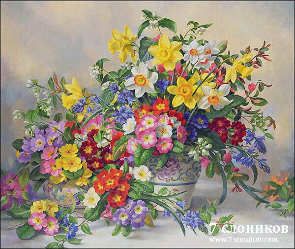 Нажмите на изображение для увеличения.  Название:Spring Flowers and Poole Pottery.jpg Просмотров:20 Размер:184.8 Кб ID:202896