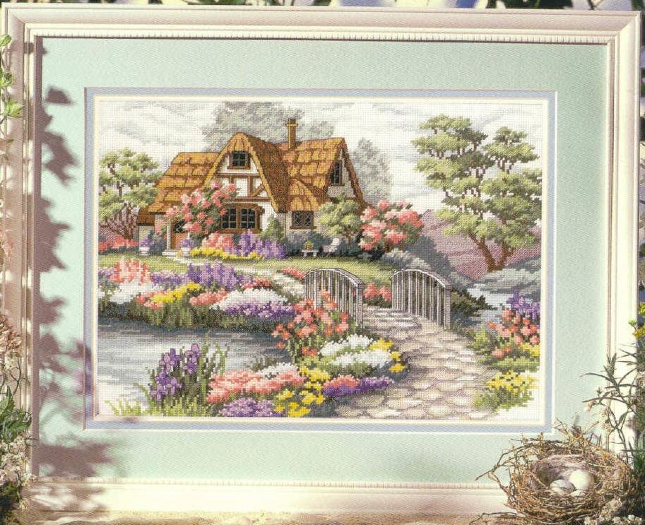 Нажмите на изображение для увеличения.  Название:Dimensions00333_Charming_Cottage.jpg Просмотров:915 Размер:153.3 Кб ID:19970