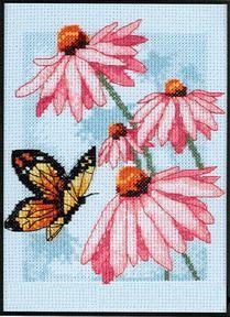 Нажмите на изображение для увеличения.  Название:Dimensions65046_Butterfly_and_Blossoms.jpg Просмотров:197 Размер:26.0 Кб ID:1830