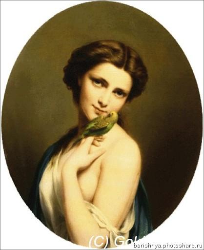 Нажмите на изображение для увеличения.  Название:A Young Beauty with a Parakeet.jpg Просмотров:149 Размер:40.3 Кб ID:63419