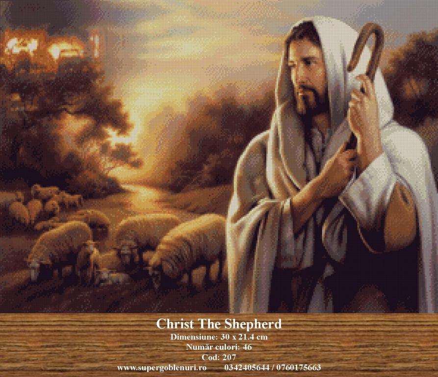 Нажмите на изображение для увеличения.  Название:207 - Christ The Shepperd.jpg Просмотров:313 Размер:118.0 Кб ID:84543