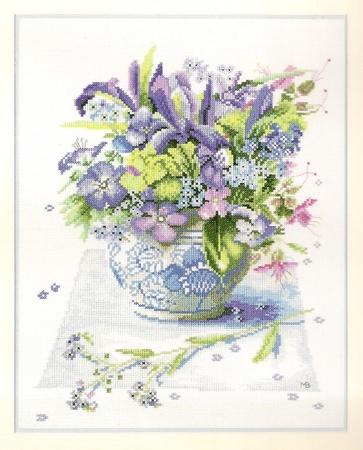 Blue Spring bouque (lanarte