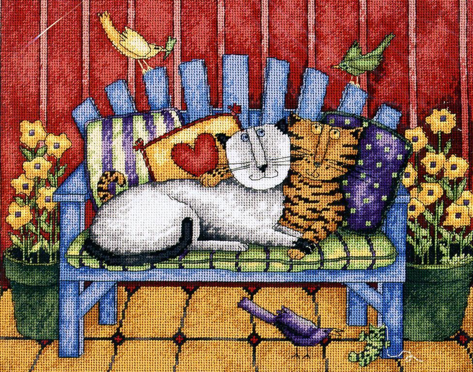 Dimensions 20056 - Porch cats
