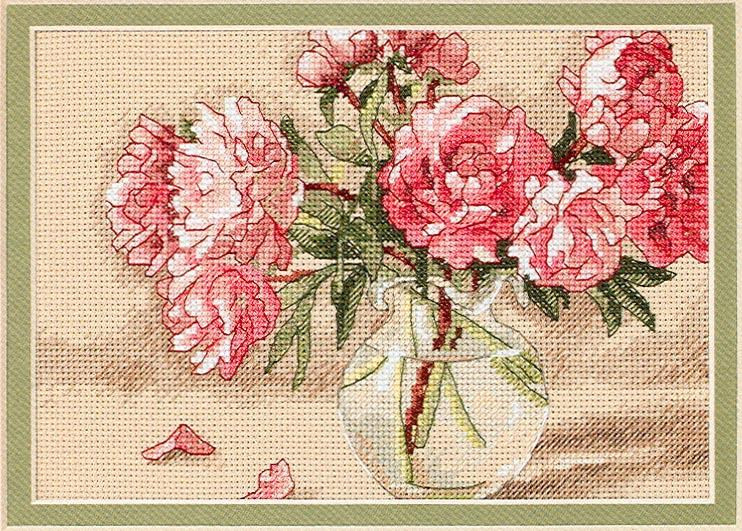 Dimensions 65048 - Peonies in