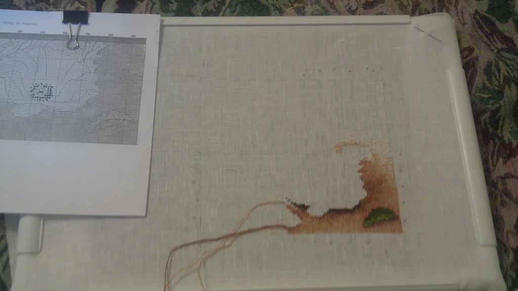 Нажмите на изображение для увеличения.  Название:Песочек 01 анхор россыпь маков.jpg Просмотров:162 Размер:48.7 Кб ID:92750