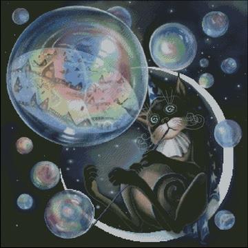 Нажмите на изображение для увеличения.  Название:Кот с мыльными пузырями.jpg Просмотров:706 Размер:23.4 Кб ID:95350
