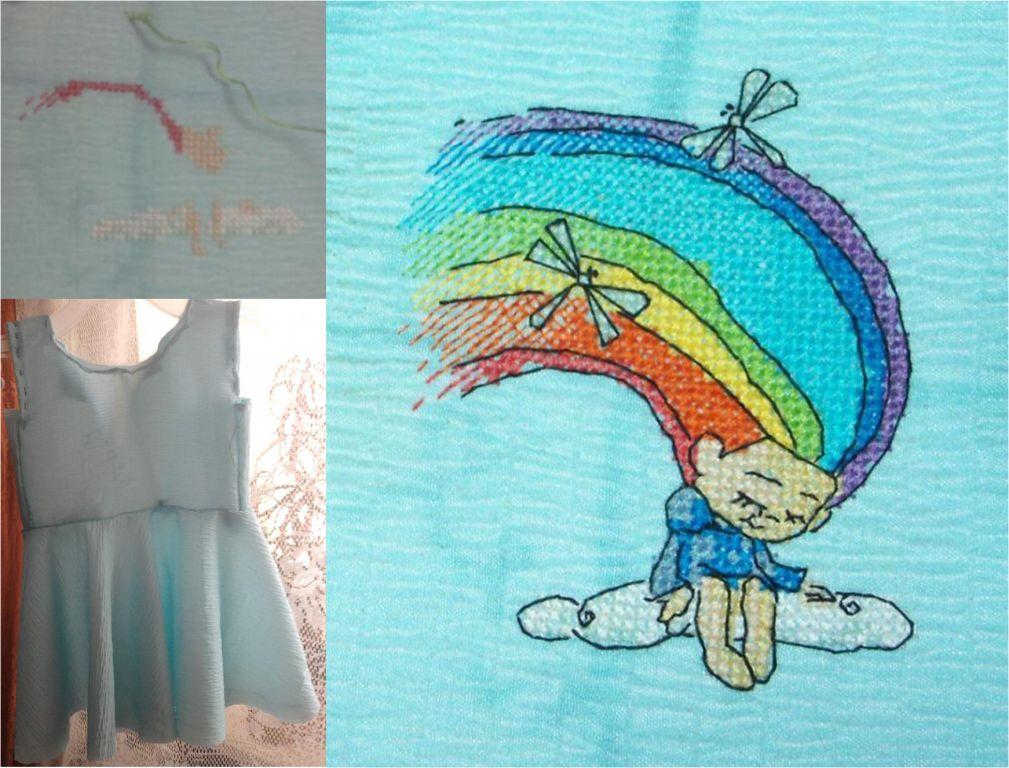 Нажмите на изображение для увеличения.  Название:Радужная девочка на платье.jpg Просмотров:158 Размер:127.9 Кб ID:99355