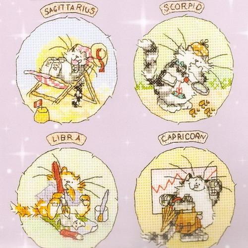 Знаки зодиака, коты - 2