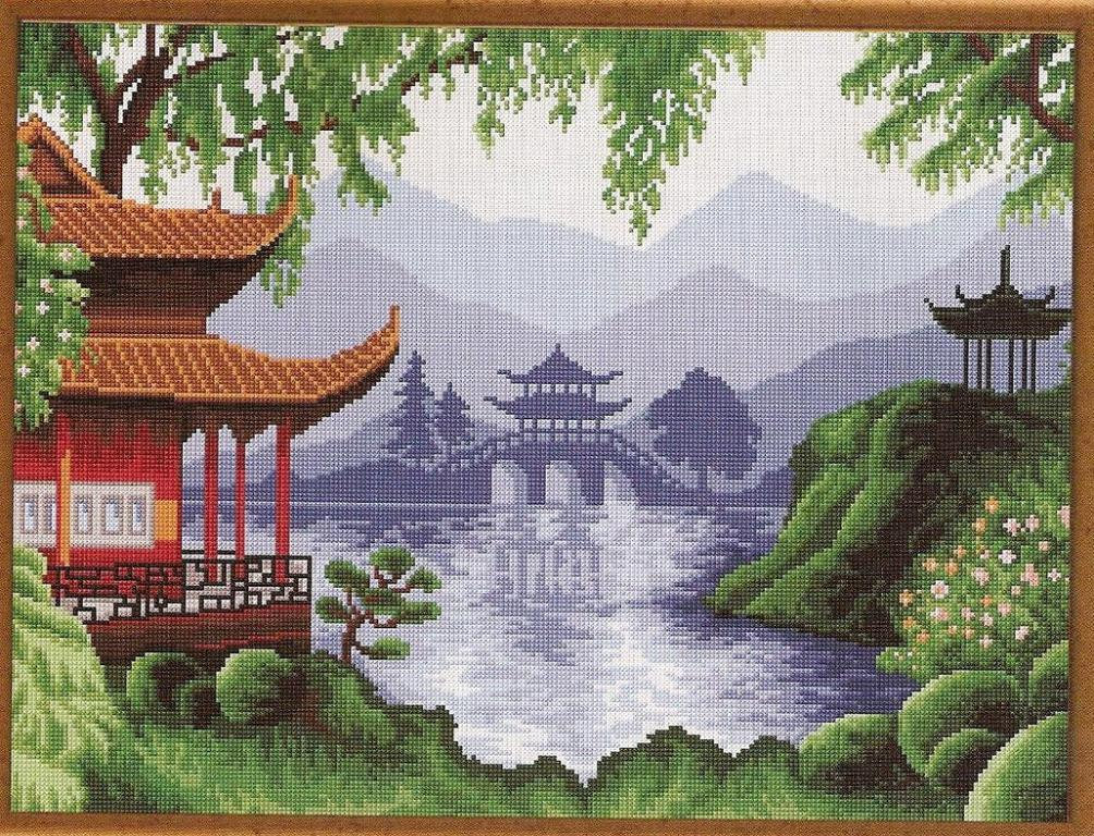 Нажмите на изображение для увеличения.  Название:китайский пейзаж 1.jpg Просмотров:418 Размер:259.6 Кб ID:126196