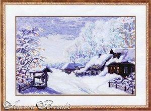 Нажмите на изображение для увеличения.  Название:зимняя деревня.jpg Просмотров:140 Размер:21.4 Кб ID:134022