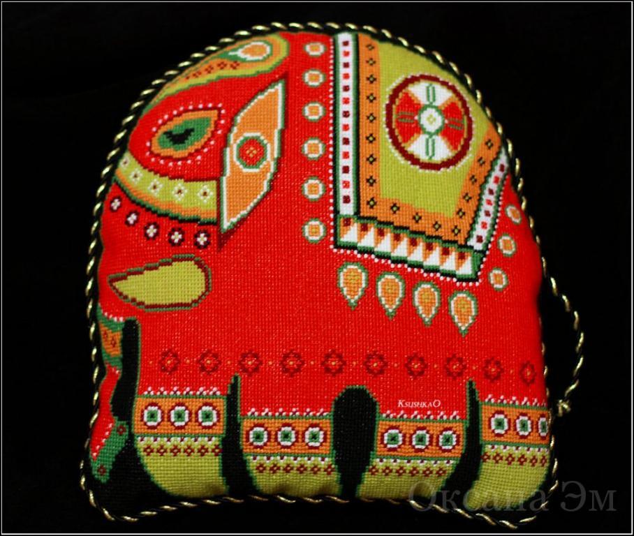 Нажмите на изображение для увеличения.  Название:подушка слон.jpg Просмотров:133 Размер:108.8 Кб ID:134031