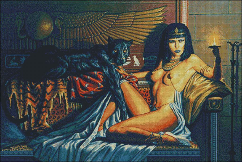Cleopatra goblen