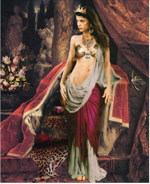 David Johnson Cleopatra.