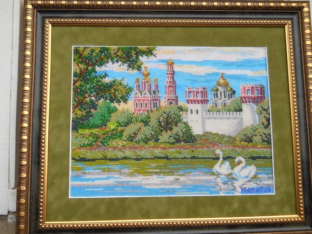 Новодевичий монастырь (в бисере)