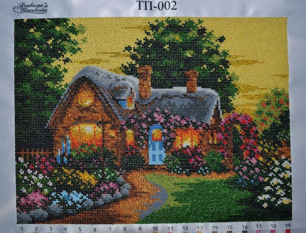 бисерный домик