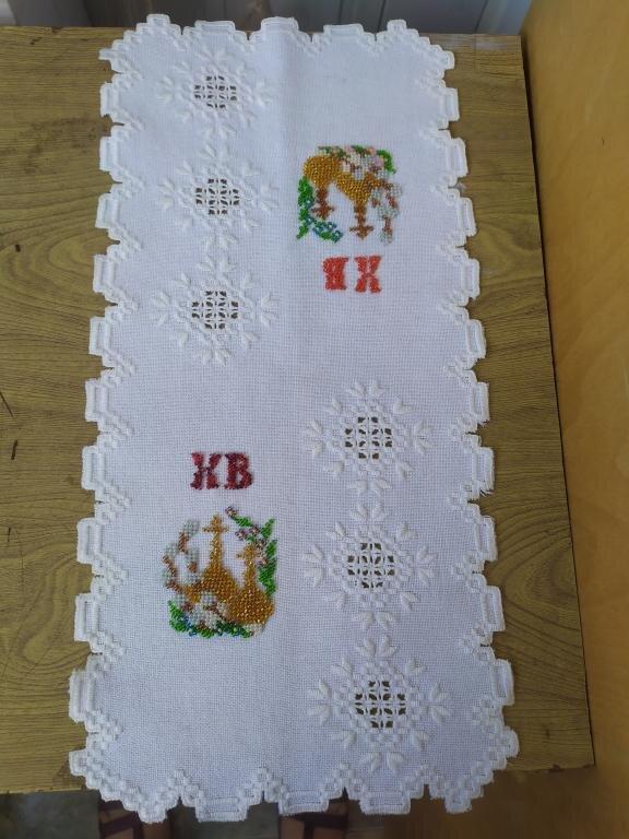 Пасхальный рушник №1