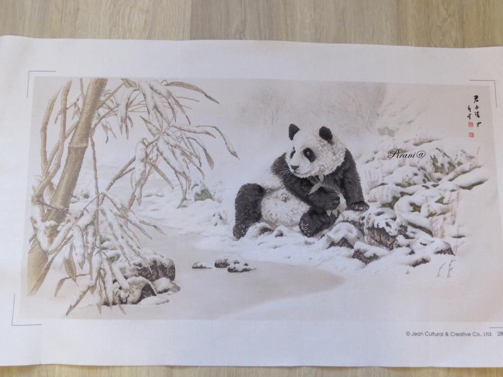 2020.09 Панда и бамбук Xiu Crafts